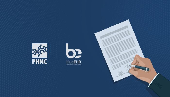 PHMC Signs blueEHR